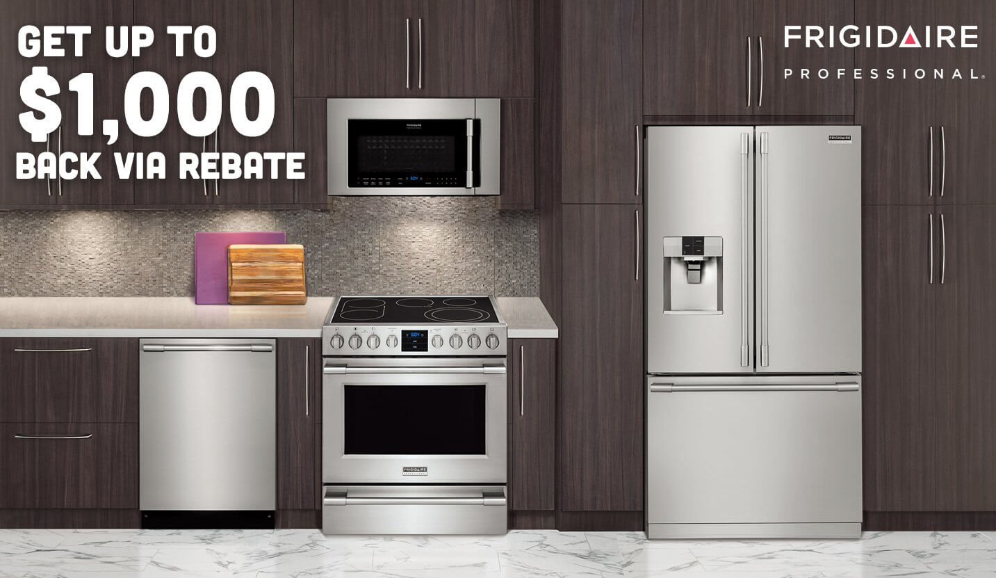 Uncategorized Kitchen Appliance Company appliances and electronics in west hartford north haven get up to 1000 back via rebate with purchase of a frigidaire kitchen package